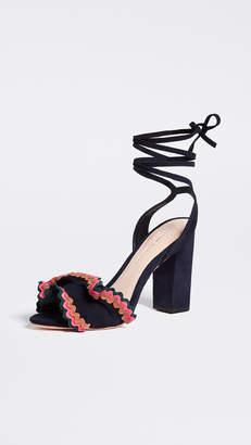 Loeffler Randall Dot Wrap Sandals