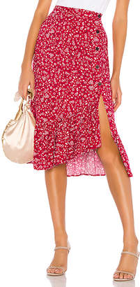 MinkPink Sweet Like Me Midi Skirt
