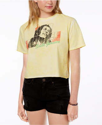 Bravado Juniors' Cotton Bob Marley Graphic T-Shirt