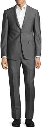 Michael Kors Slim-Fit Two-Button Two-Piece Suit, Gray