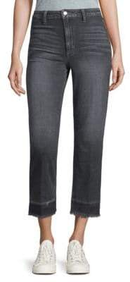 Joe's Jeans The Jane Fringed-Hem Cropped Jeans