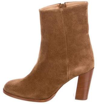 Closed Suede Ankle Boots w/ Tags