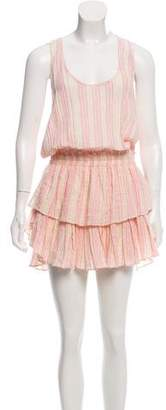 LoveShackFancy Sleeveless Knee-Length Dress