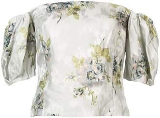 Brock Collection off the shoulder blouse