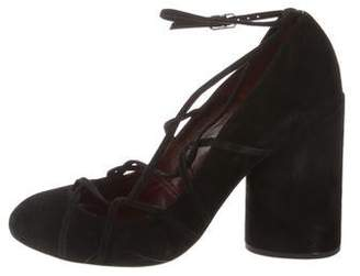Marc Jacobs Carrie Suede Pumps