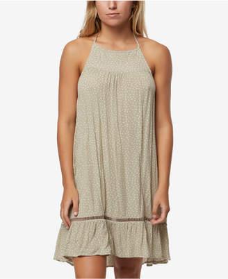 O'Neill Juniors' Jenelle Printed Halter Dress