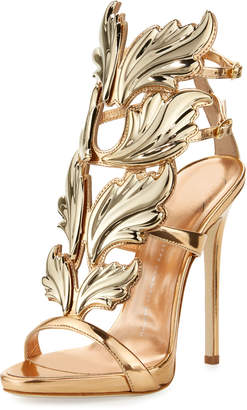 Giuseppe Zanotti Coline Wings Suede 110mm Sandals