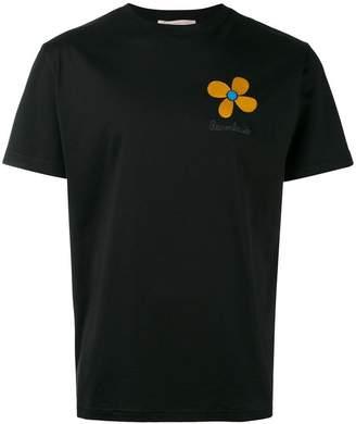 Christopher Kane embroidered flower unisex T-shirt