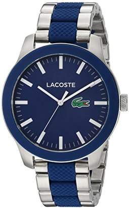 Lacoste Men's '12.12' Quartz Stainless Steel Casual WatchMulti Color (Model: 2010891)