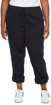SUPPLIES BY UNION BAY SUPPLIES BY UNIONBAY Supplies By Unionbay Stretch Twill Knit Waist Pull-On Pants - Plus