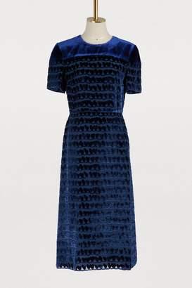 Fendi Short-sleeved midi dress