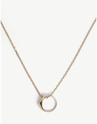 Maison Margiela Two-tone ring necklace