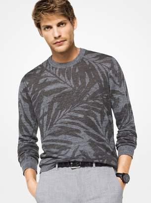 Michael Kors Palm Linen Pullover