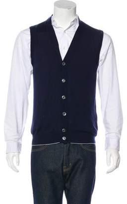 Eleventy Sleeveless Sweater Vest