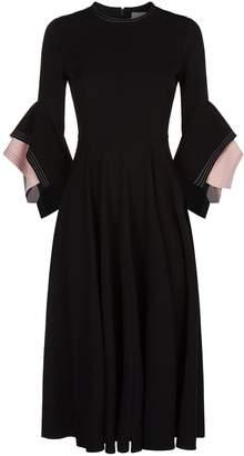 Roksanda Ayres Bell Sleeve Dress
