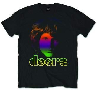 URBAN RESEARCH Tee Shack Jim Morrison Rainbow Face The Rock Official Tee T-Shirt Mens Unisex