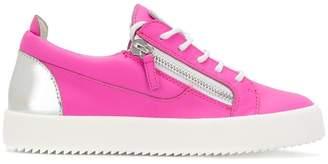 Giuseppe Zanotti Design side zipped sneakers
