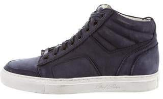Del Toro Suede High-Top Sneakers