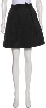 Thakoon Pleated Knee-Length Skirt