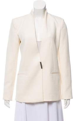Helmut Lang Textured Long Sleeve Blazer