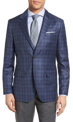 Men's Moods Of Norway Holberg Trim Fit Plaid Wool Sport Coat $499 thestylecure.com
