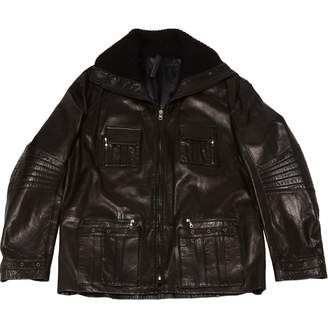 Ventcouvert Black Leather Jackets