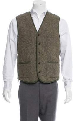 Jack Spade Down Wool Vest