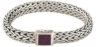 John Hardy Ruby Classic Chain 7.5mm Bracelet
