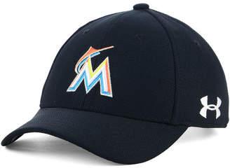 Under Armour Boys' Miami Marlins Adjustable Blitzing Cap