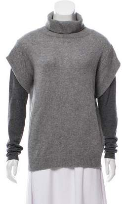 Allude Knit Turtleneck Sweater