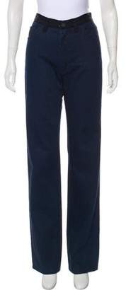 Lanvin x Acne High-Rise Wide-Leg Jeans