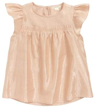 J.Crew crewcuts by Ruffle Lame Top