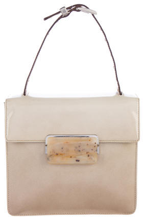 pradaPrada Spazzolato Top Handle Bag