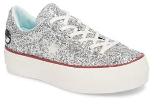 Converse x Chiara Ferragni One Star Glitter Platform Sneaker