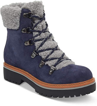 Tommy Hilfiger Women's Ron Lace-Up Cold-Weather Boots Women's Shoes