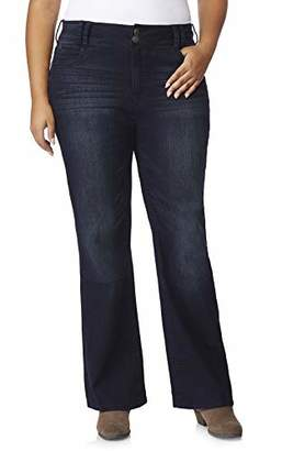WallFlower Junior's Plus-Size InstaStretch Luscious Curvy Bootcut Jeans