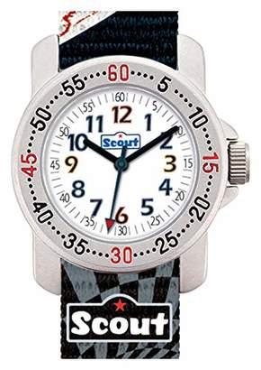 Scout Boys Analogue Quartz Watch with Textile Strap 280376008