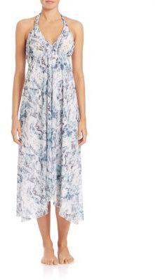 HEIDI KLEIN Printed Cotton Handkerchief Dress $450 thestylecure.com