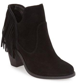 Jessica Simpson 'Cecila' Fringe Bootie (Women) $128.95 thestylecure.com