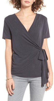 Women's Bp. Wrap Tee $35 thestylecure.com