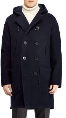 Ralph Lauren Purple Label Edale Boiled Wool-Cashmere Peacoat
