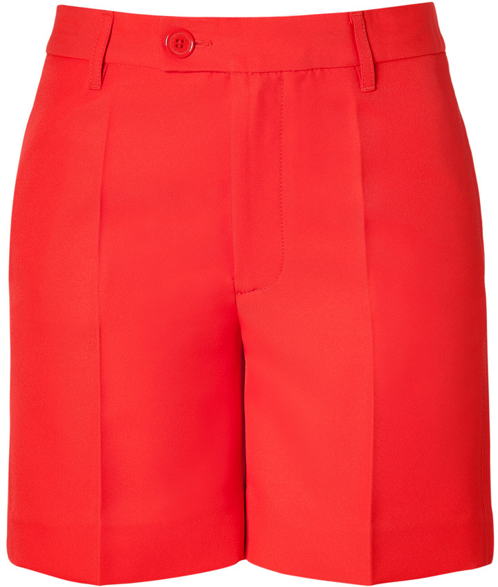 Marc by Marc Jacobs Flame Scarlet Tate Twill Shorts