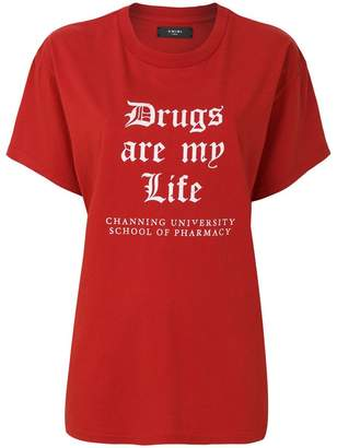 Amiri Drug Life oversized T-shirt
