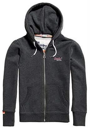 Superdry Women's Women's Orange Label Zip Hooded Sweatshirt