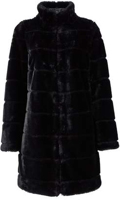 Dorothy Perkins Womens Black Carved Faux