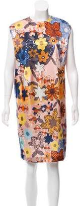 Acne Studios Delina Floral Dress
