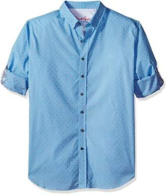 Robert Graham Men's Tall Size Carlos L/s Tailored Fit Shirt
