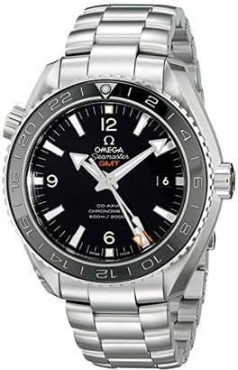 Omega Men's 23230442201001 Analog Display Automatic Self Wind Silver Watch