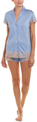 Josie Natori 2Pc Charlize Pajama Short Set
