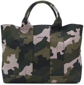 Tomas Maier camo beach bag